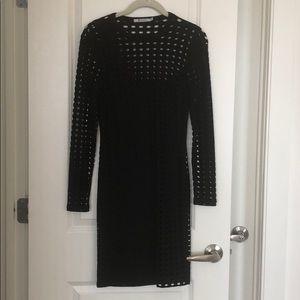 T Alexander Wang Long Sleeve Dress